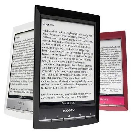Электронная книга Sony Reader PRS-T1