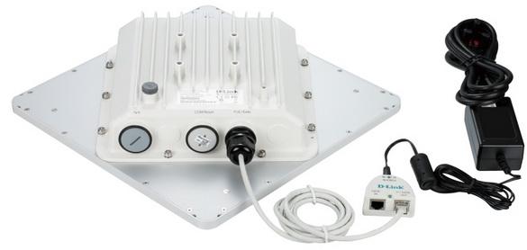 D-Link DAP-3860 - вид сзади