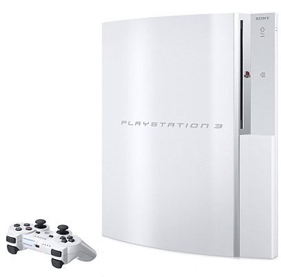 Белая PlayStation 3