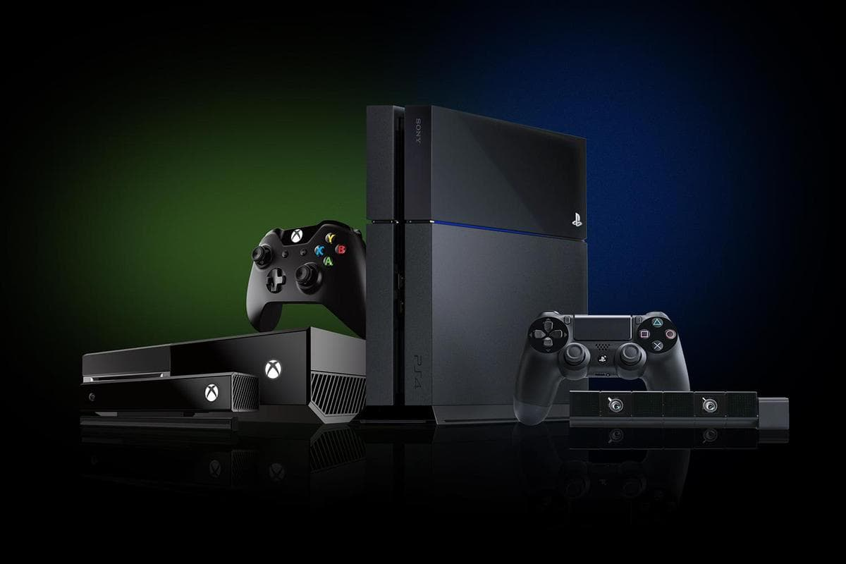 Sony playstation 4 and Xbox One