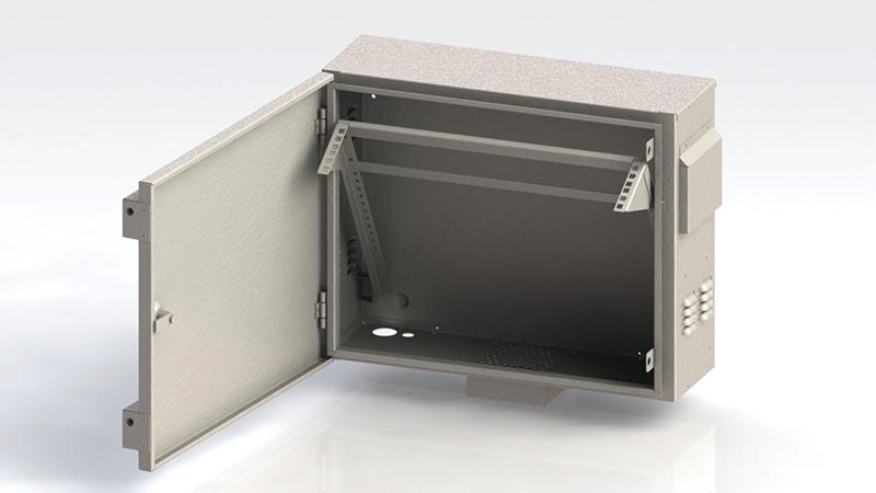 Антивандальный серверный шкаф