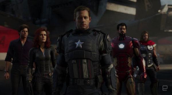 Игра Marvel's Avengers