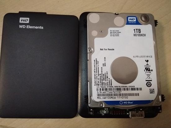 Восстановление данных после падения внешнего диска