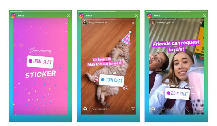 Проведите пальцем вверх - функция Instagram 3