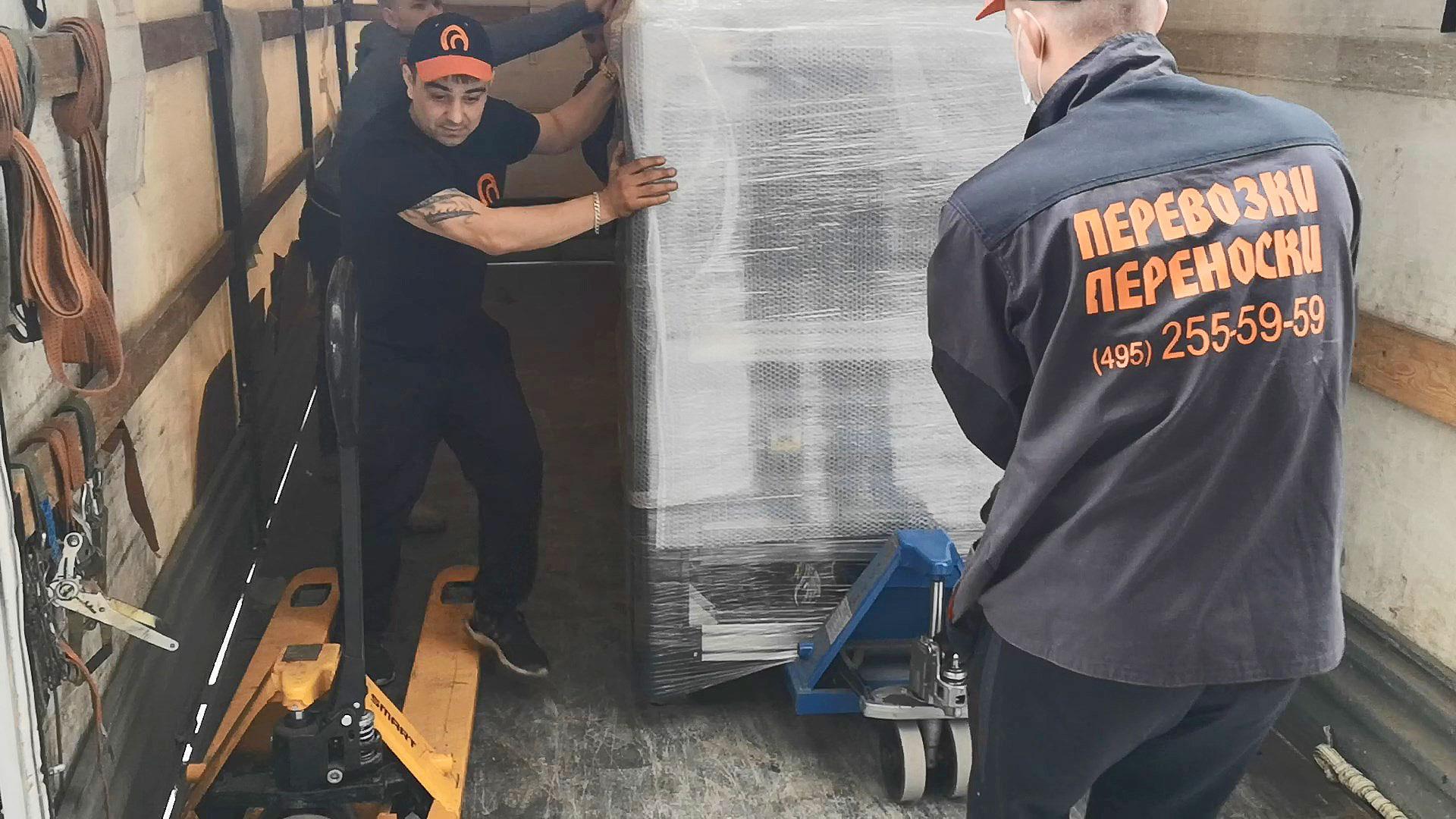 Как перевозят торговое оборудование при переезде магазина